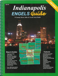 Buy map Indianapolis, Indiana Atlas by Engels Guide