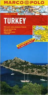 Buy map Turkey by Marco Polo Travel Publishing Ltd