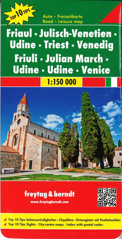 Buy map Friuli, Italy by Freytag-Berndt und Artaria