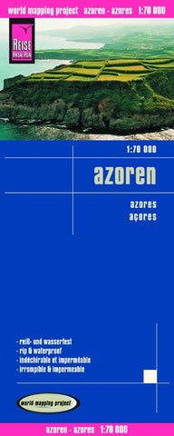 Buy map Azores by Reise Know-How Verlag
