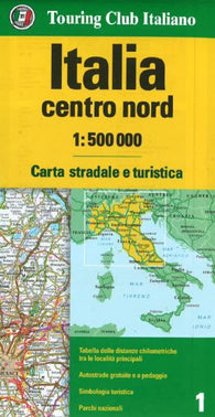 Buy map Italy, North-Central by Touring Club Italiano