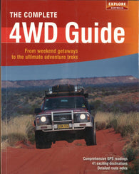 Buy map Australia: The Complete 4WD Guide by Universal Publishers Pty Ltd