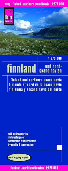 Buy map Finland and Northern Scandinavia by Reise Know-How Verlag