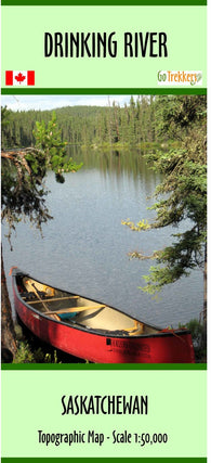 Purchase Clip of canoe map