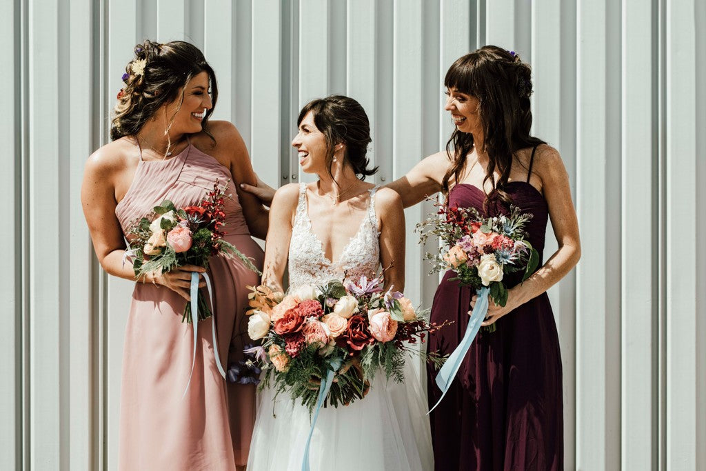 Grace and Ivory Gemma Dress at the Big Fake Wedding Kansas City Juliana Jumper Photography