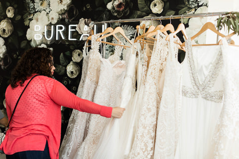 Grace and Ivory custom wedding dress shopping