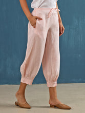 Load image into Gallery viewer, Lenora Pintuck Pants in Blush