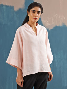 Kaiya Zen Top in Blush