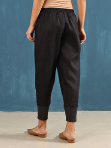 Zendo Cropped Pants in Black