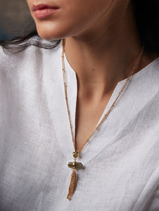 Ellora Waterfall Necklace - Manan