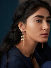 Load image into Gallery viewer, Ajanta Waterfall Earrings - Manan