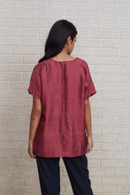 Load image into Gallery viewer, Kimono Top - Burgundy