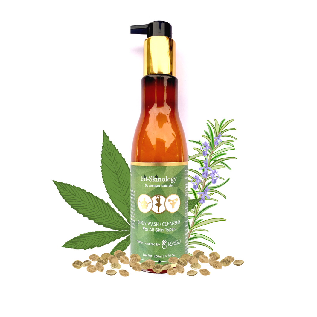 Hemp Seed Oil + Rosemary + Mint Body Wash | Amayra Naturals