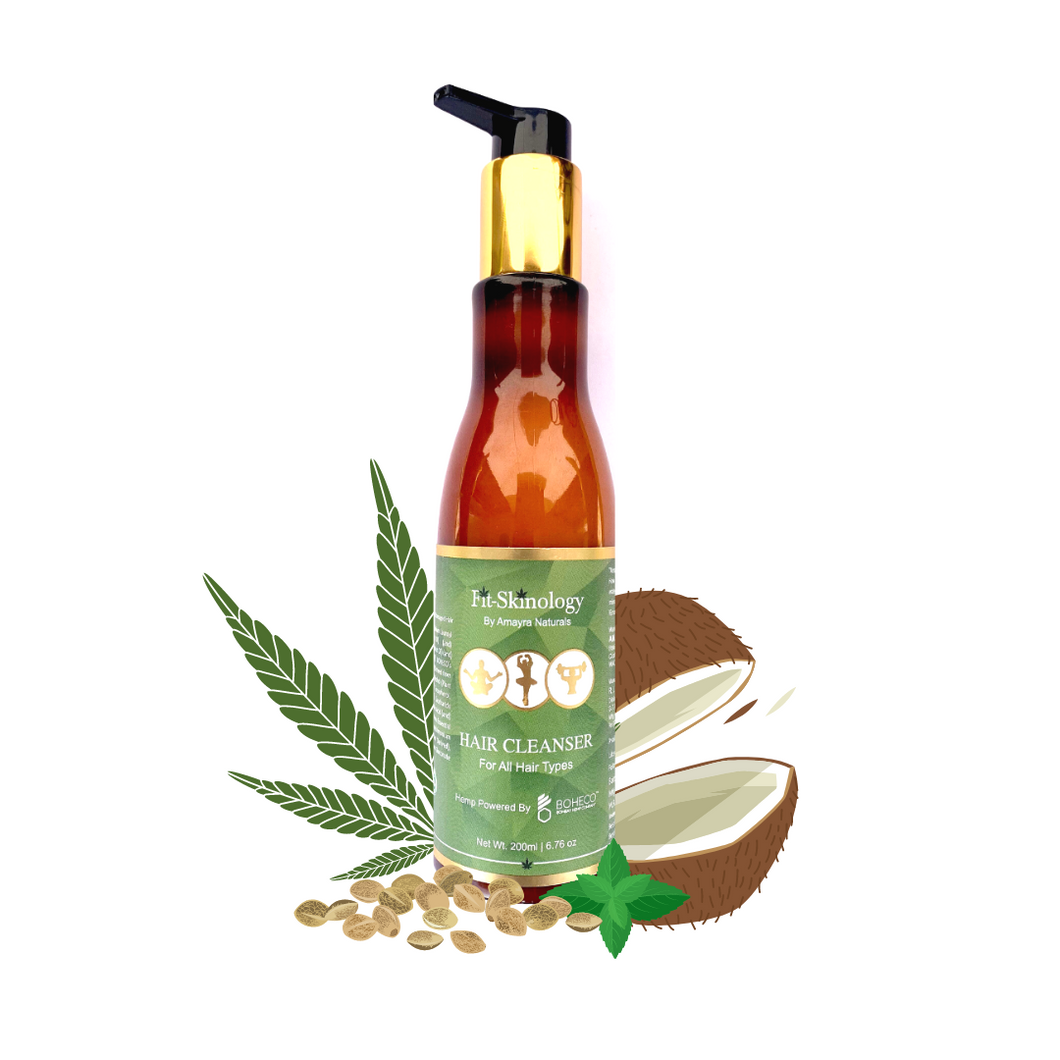 Hemp Seed Oil + Rosemary + Mint Shampoo | Amayra Naturals