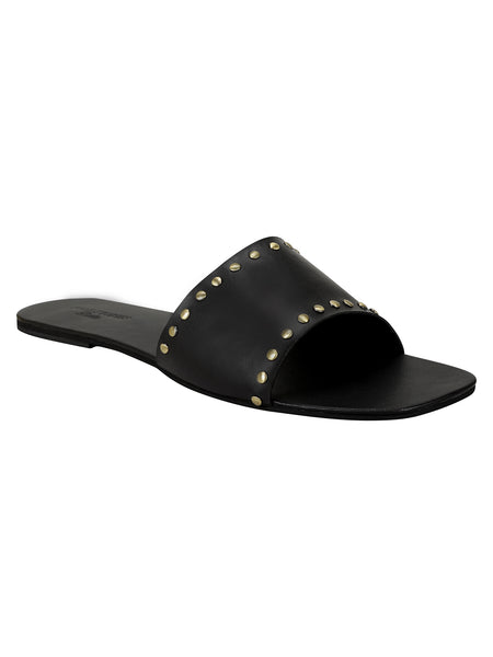 Rivet Sliders - Black