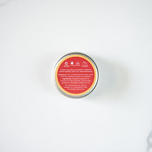 Natural Beeswax Lip Balm - Grapefruit