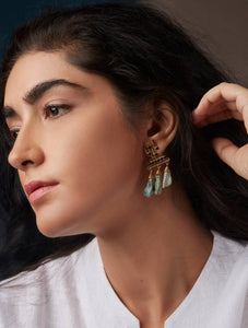 Aurangabad Drop Earrings - Manan