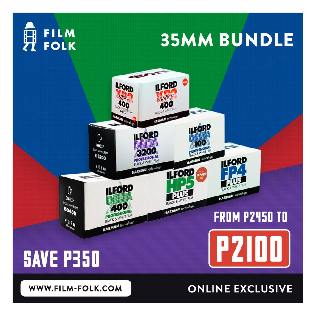 ILFORD 135 BUNDLE