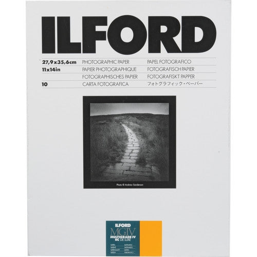 ILFORD MULTIGRADE IV RC DELUXE SATIN SHEET 11X14