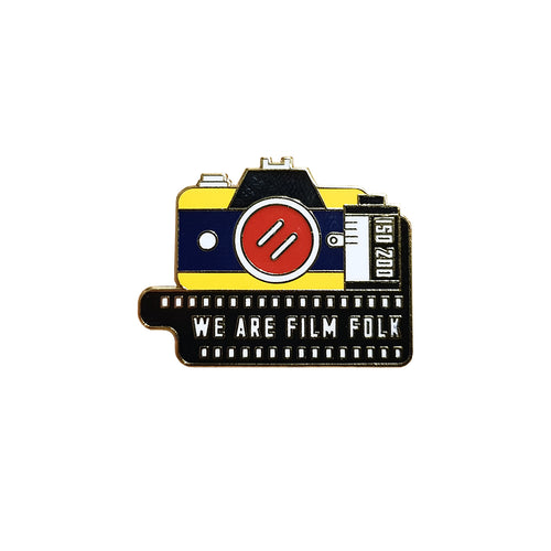 FILM FOLK ENAMEL PIN
