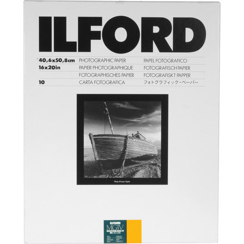 ILFORD MULTIGRADE IV RC DELUXE SATIN SHEET 16X20