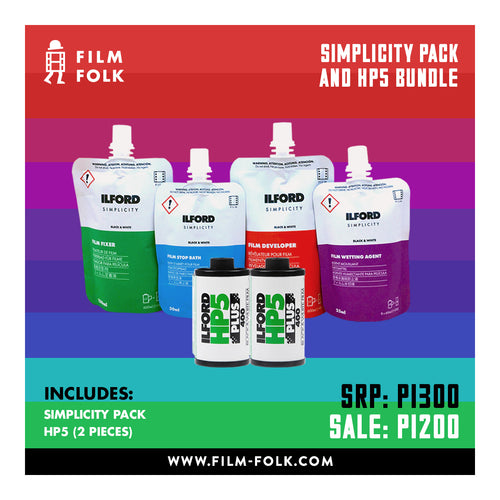 SIMPLICITY PACK + HP5 BUNDLE