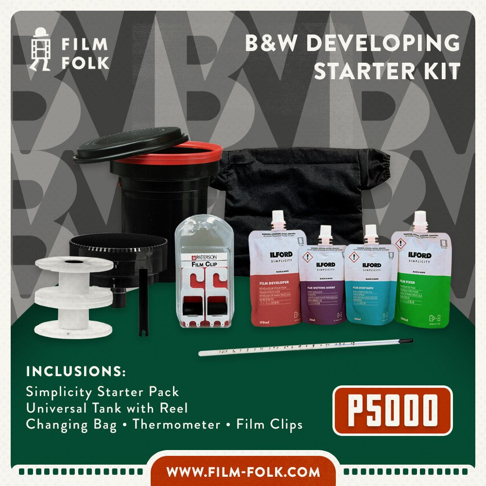 FILM FOLK BW DEVELOPING KIT BUNDLE