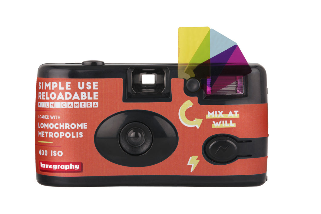 LOMOCHROME METROPOLIS RELOADABLE CAMERA