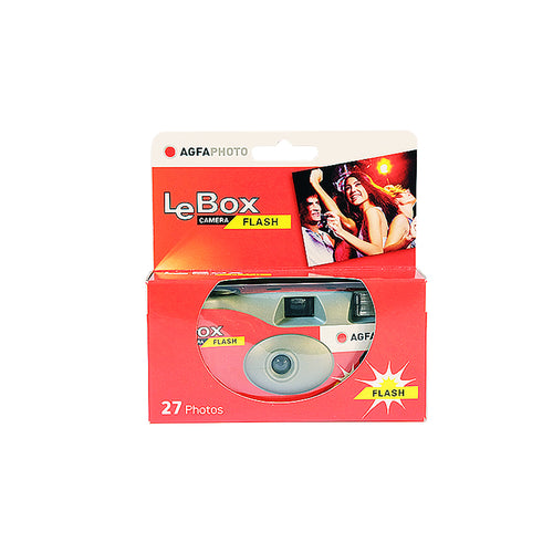 AGFA LEBOX DISPOSABLE CAMERA