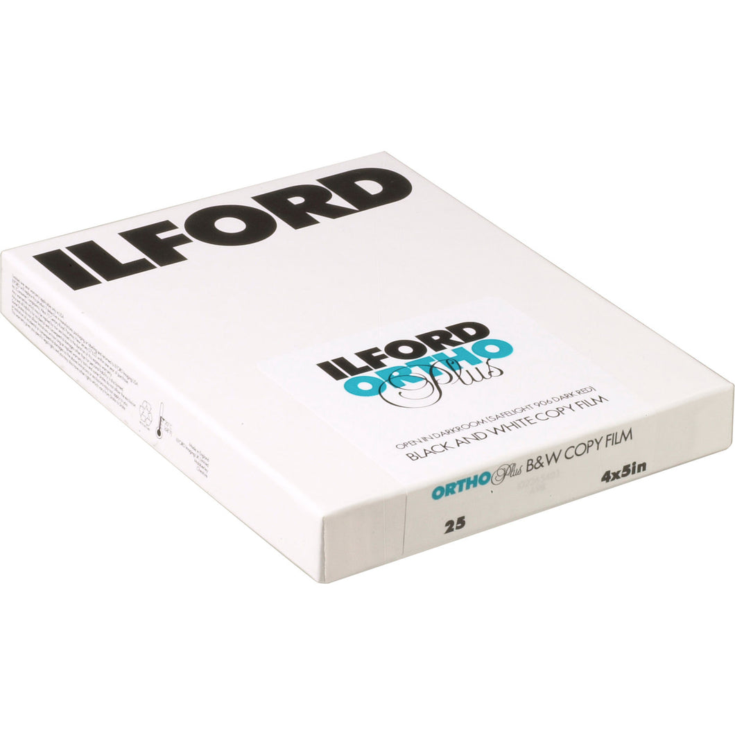 ILFORD ORTHO 25 4X5 SHET FILM