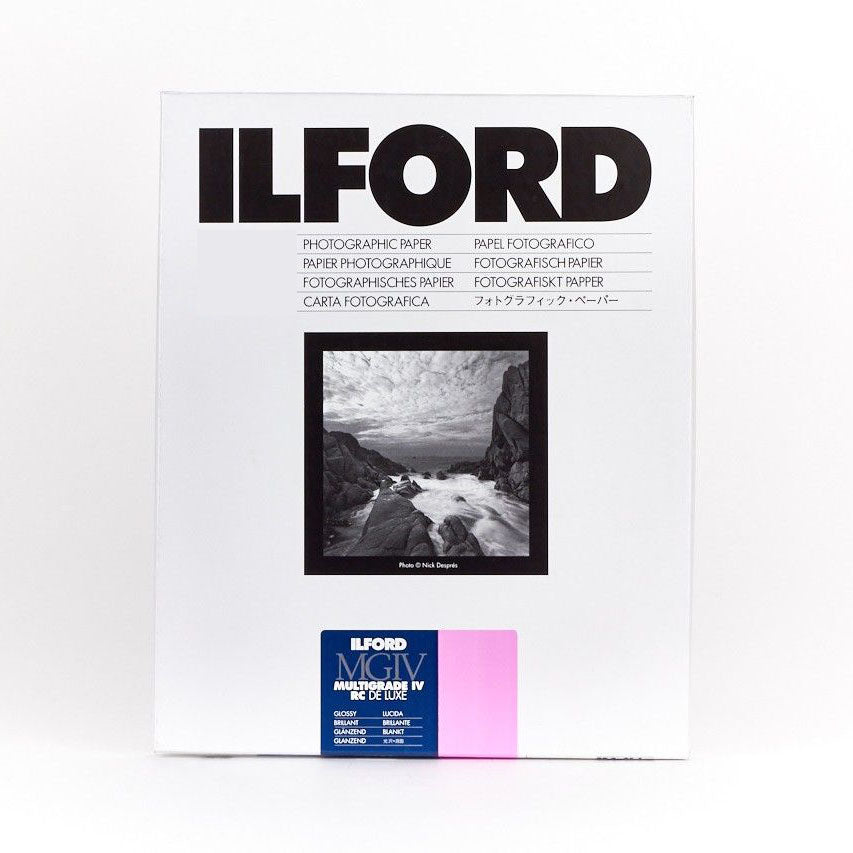 ILFORD MULTIGRADE IV RC DELUXE GLOSSY SHEET 16X20