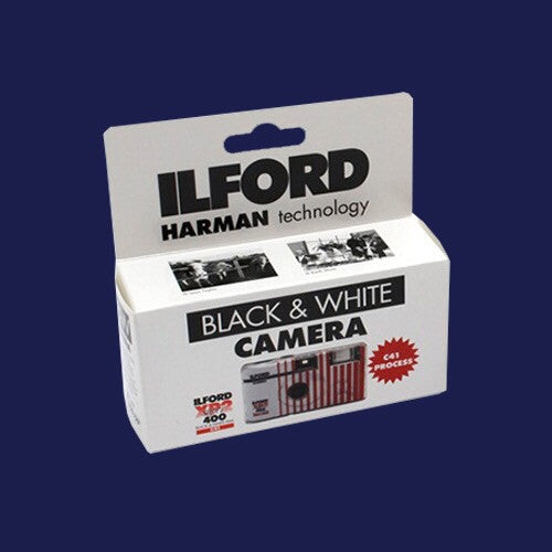 ILFORD XP2 DISPOSABLE CAMERA