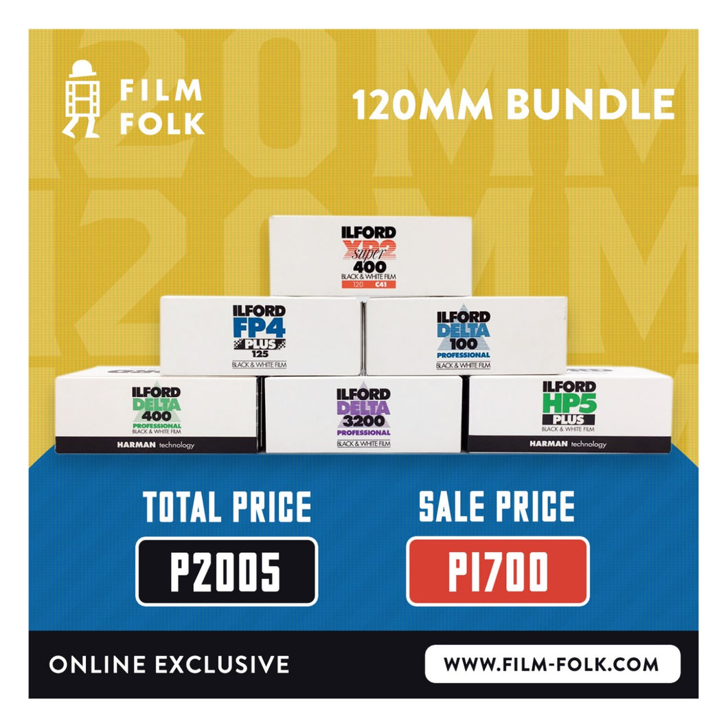 ILFORD 120 BUNDLE