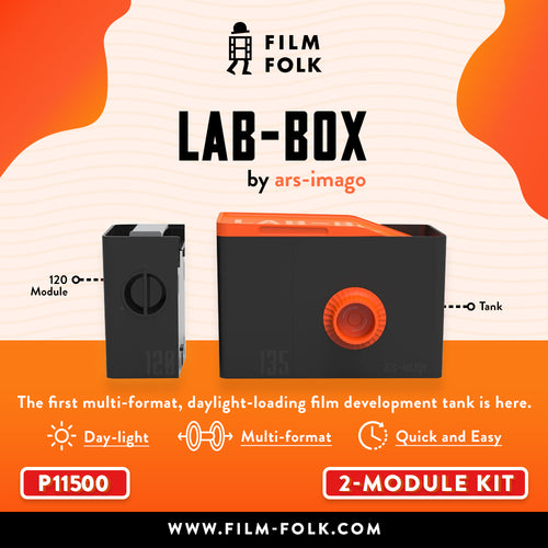 ARS-IMAGO LAB-BOX 2 MODULE KIT (ORANGE)