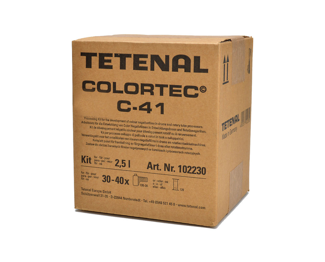 TETENAL COLORTEC C-41 KIT FOR 2.5L