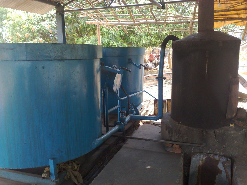 Citronella Java Oil Distillation