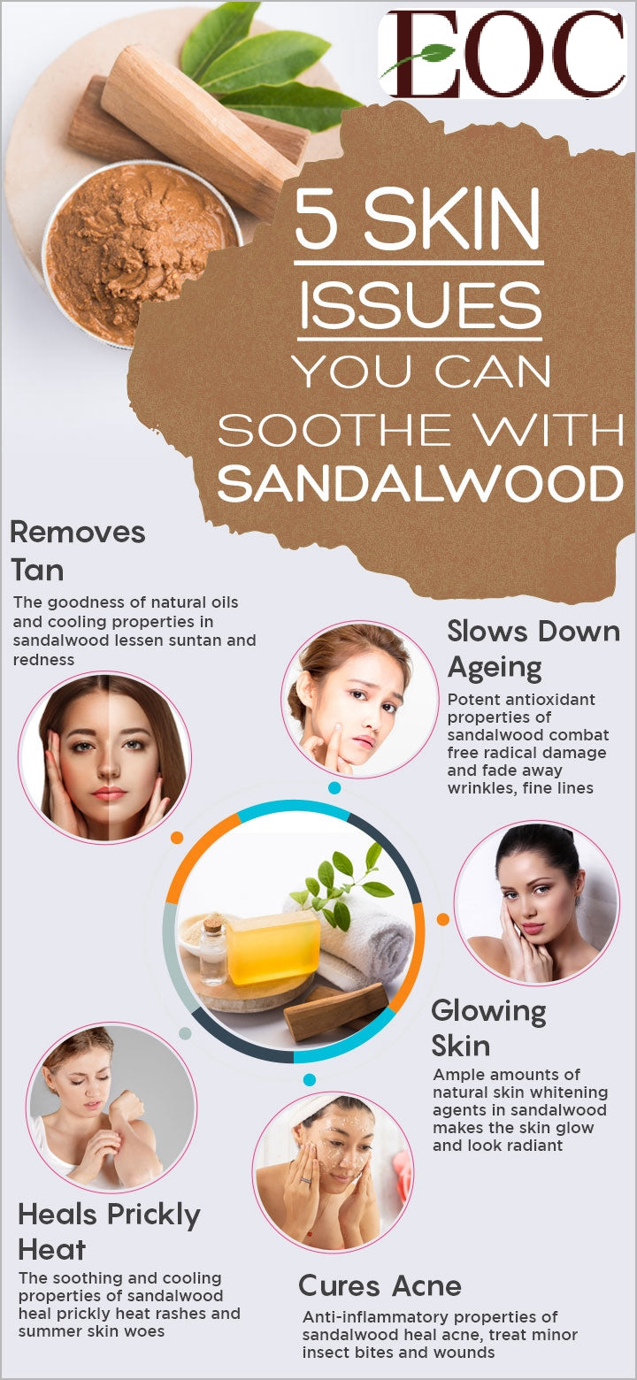 Heal Skin Problems with Sandalwood Oil
