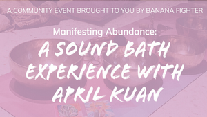 Tibetan Bowls Sound Healing Session with April Kuan
