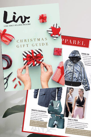 Activewear Liv Magazine Hong Kong Christmas gift guide