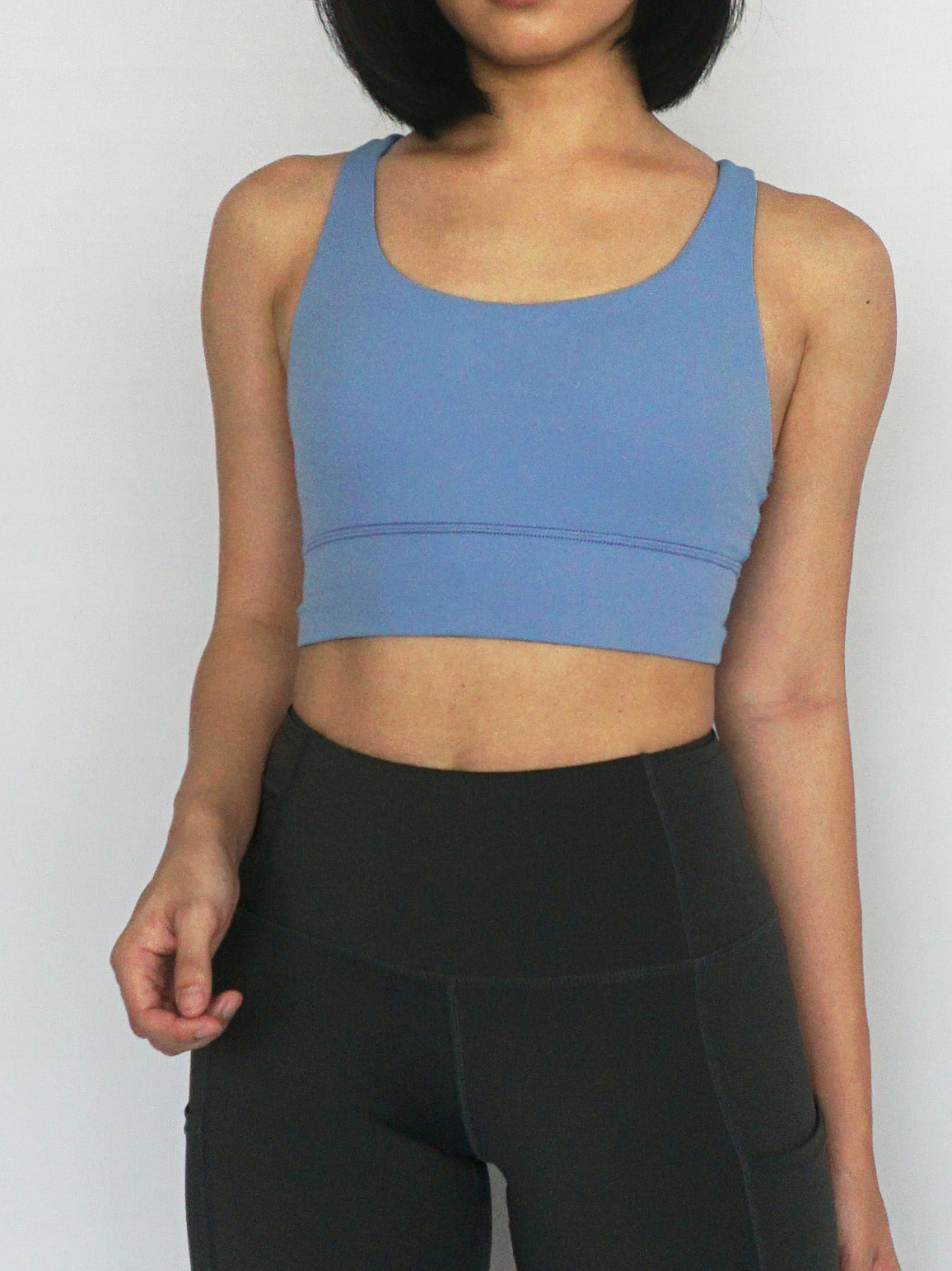 Dash Sports Bra- MAYA BLUE - Banana Fighter