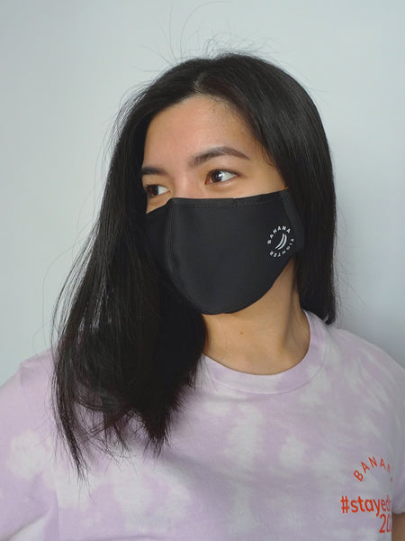 Antibacterial Reusable Face Mask- ORANGE BLUE