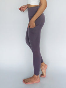 Stride Legging- AMETHYST - Banana Fighter