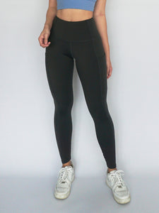 Stride Legging- STEEL