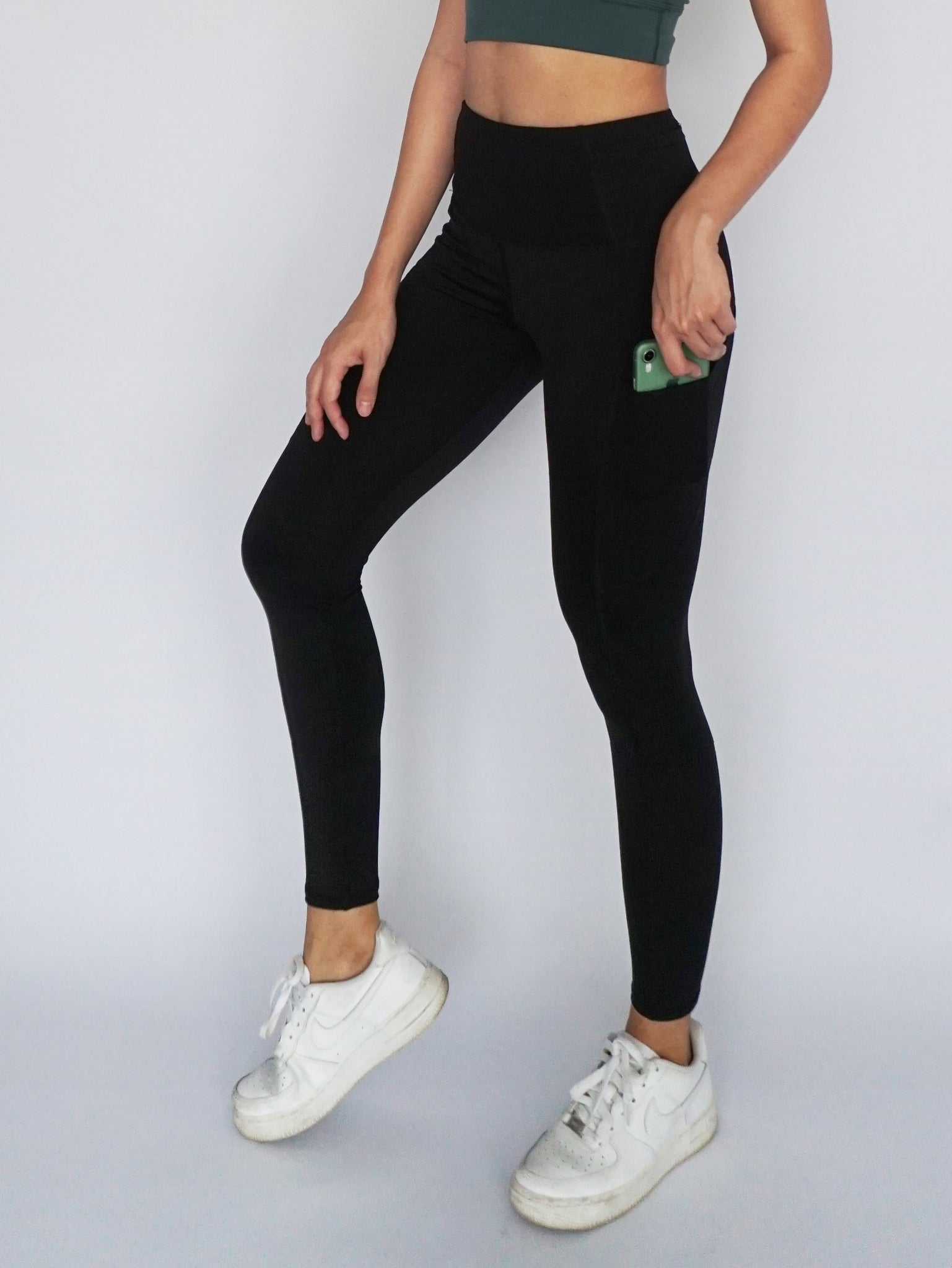 Stride Legging- BLACK - Banana Fighter