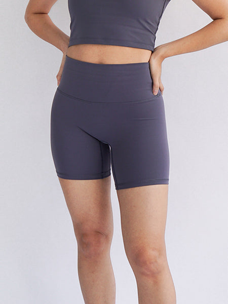 "Cadence 6"" Biker Shorts- Nightfall - Banana Fighter"