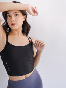 Freya Knot Top- Black - Banana Fighter
