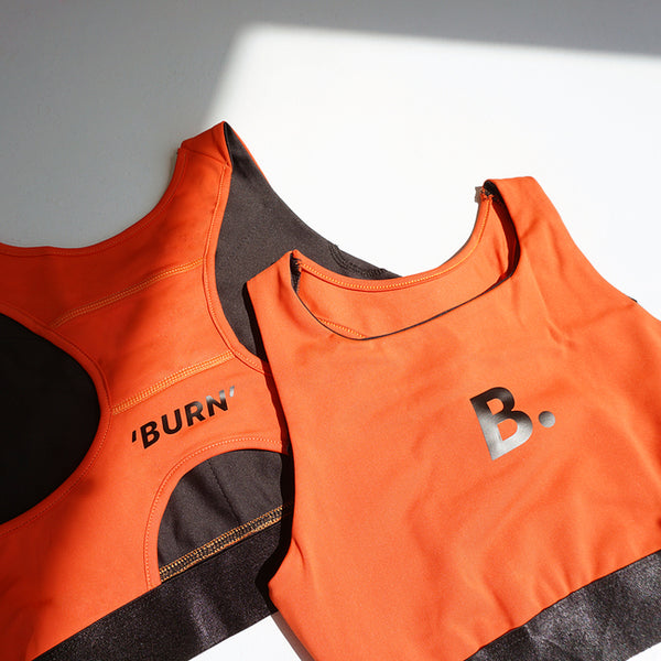 BananaFighter x Kittie Yiyi 'BURN' Sports Bra