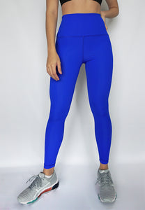 Infinity Legging- Electric Blue - Banana Fighter
