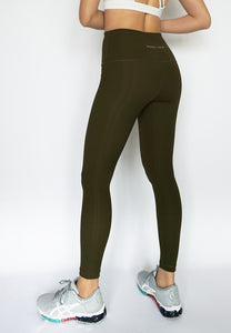 Infinity Army Green legging for women