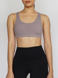 Heather Sports Bra
